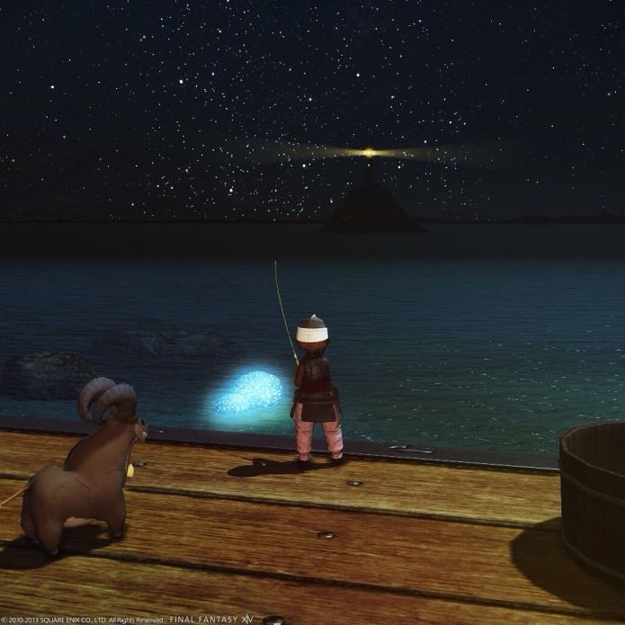 夜釣。コスタ・デル・ソル。